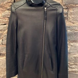 Mackage leather Car Coat Moto
